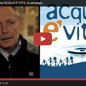 Acqua è vita: una campagna di sensibilizzazione a lungotermine
