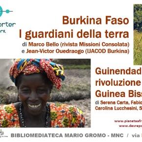 Museo Nazionale del Cinema: il 19 gennaio a Torino presentazione dei reportage dalla Guinea Bissau e dal BurkinaFaso
