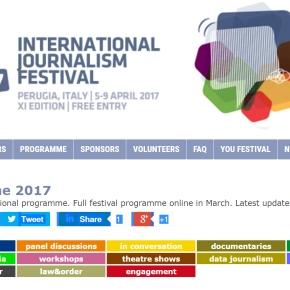 Meno di un mese all'Edizione 2017 dell'International Journalism Festival di Perugia. Ecco una selezione degli eventi più legati al mondo dellacooperazione